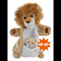 Trudi handpop leeuw met jong