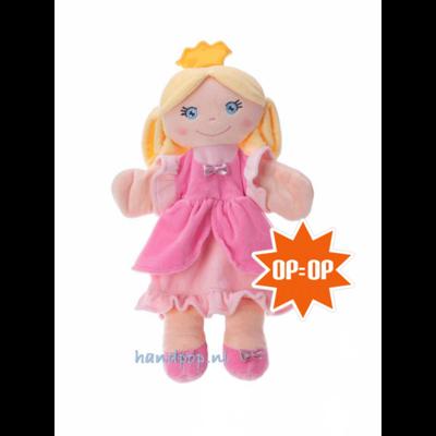 Trudi handpop rag doll prinses
