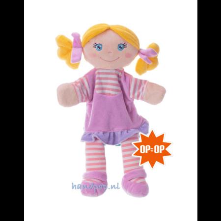Trudi roze rag doll