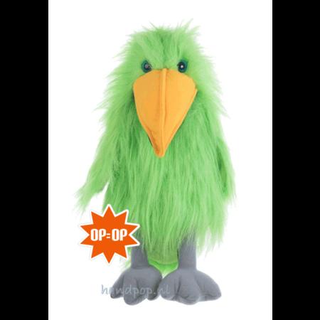 The Puppet Company groene vogel handpop