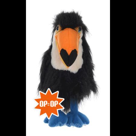 The Puppet Company handpop gele snavel toekan