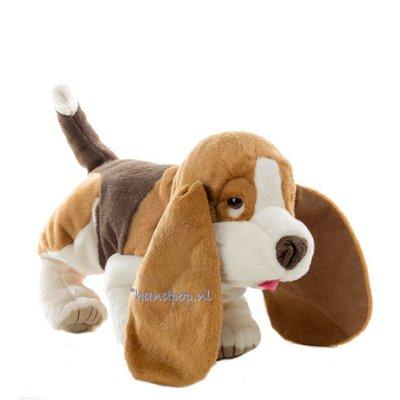 Folkmanis handpop hond Basset
