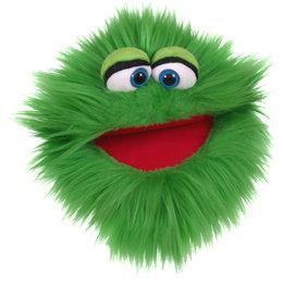 Living Puppets handpop Kletskop Blappermouth groen (Quatschkoppe)