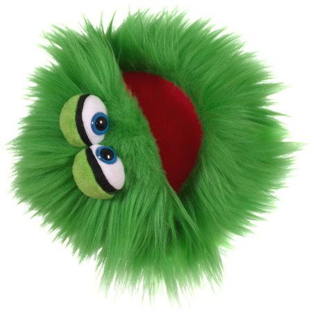 Living Puppets Kletskop Blappermouth  groen (Quatschköppe Plappermaul)