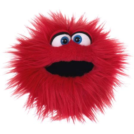 Living Puppets handpop Kletskop Twaddle rood (Quatschköppe  Klatschtrine)