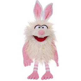 Living Puppets handpop Vlekje (Flöckchen) wit