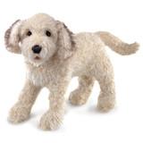 Folkmanis handpop hond labradoodle