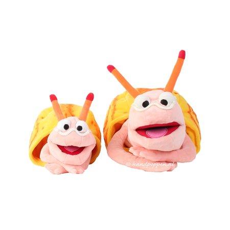 Living Puppets Finchen de Slak klein