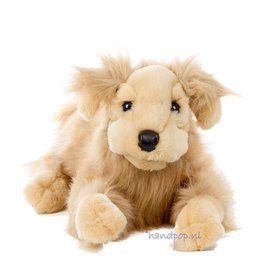 Folkmanis handpop hond golden retriever