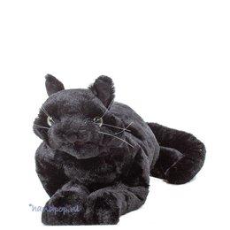 Folkmanis handpop poes zwart