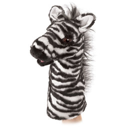 Folkmanis handpop / stagepuppet zebra