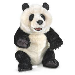 Folkmanis handpop panda baby groot