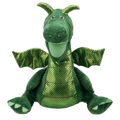 The Puppet Company handpop draak groen