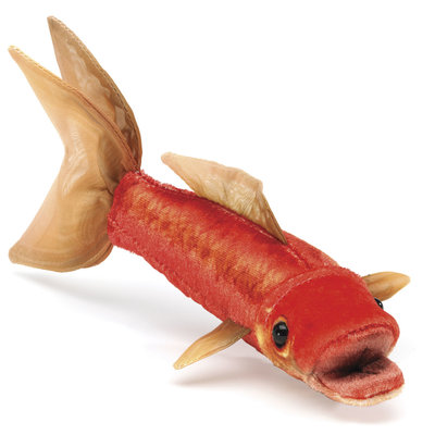 Folkmanis goudvis vingerpopje