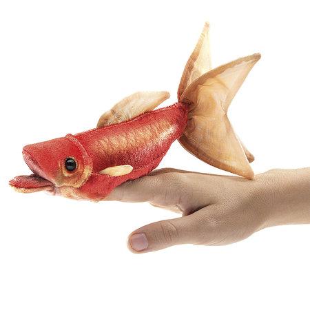Folkmanis vingerpopje goudvis