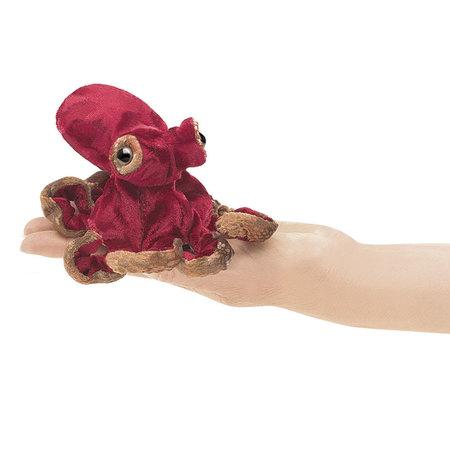 Folkmanis vingerpopje octopus