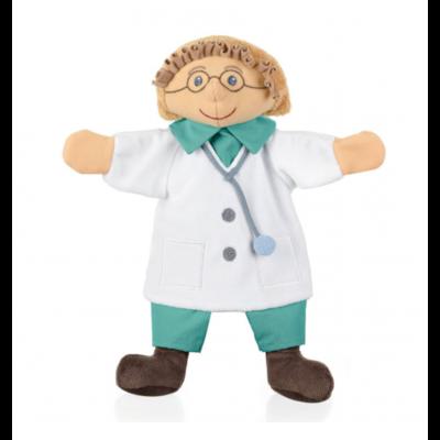 Sterntaler Dokter poppenkastpop 30 cm