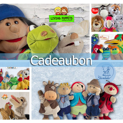 Handpoppen.nl Cadeaubon €50,00