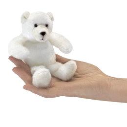 Folkmanis ijsbeer vingerpopje