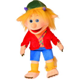 Living Puppets handpop Knille de trol 45 cm