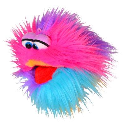 Living Puppets handpop Kletskop regenboog