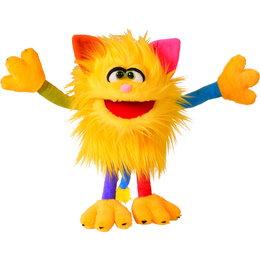Living Puppets handpop Schickimicki geel