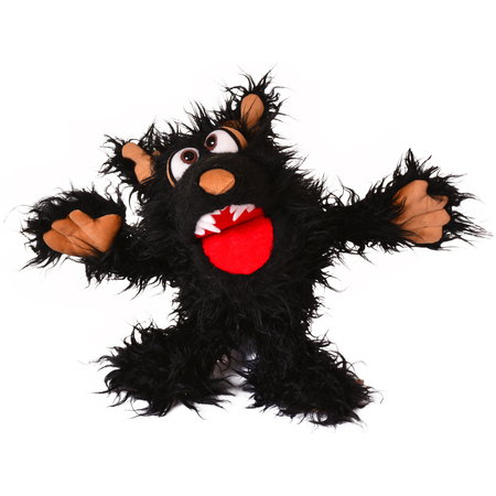 Living Puppets Muffi HapWeg wolf handpop