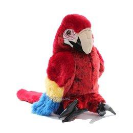 Folkmanis handpop papegaai (scarlet ara)
