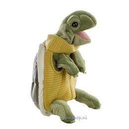 Folkmanis handpop schildpad met coltrui