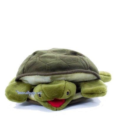 Folkmanis handpop schildpad groen