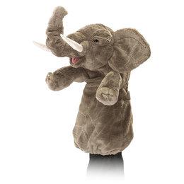 Folkmanis handpop / stagepuppet olifant