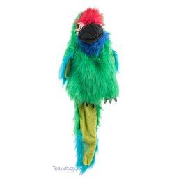 The Puppet Company handpop papegaai (soldatenara)