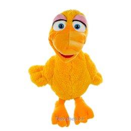 Living Puppets handpop eend Giesela