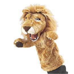 Folkmanis handpop / stagepuppet leeuw