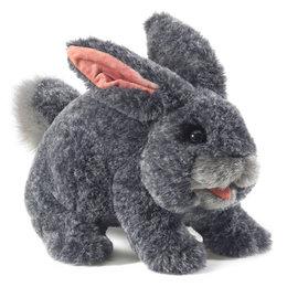 Folkmanis handpop grijs konijn