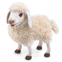 Folkmanis handpop wollig schaap