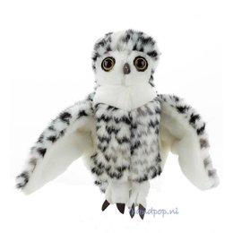 Folkmanis handpop uil sneeuwuil klein