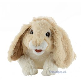 Folkmanis handpop konijn (knuffelkonijn)