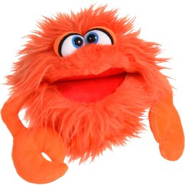 Living Puppets handpop Kletskop Knipser Krab