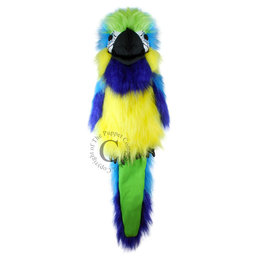 The Puppet Company handpop papegaai (blauwe ara)