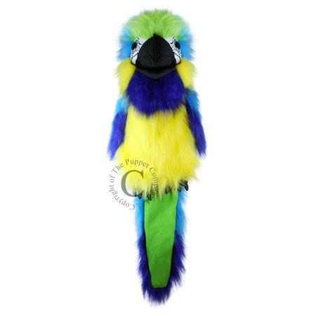 The Puppet Company handpop blauwe ara