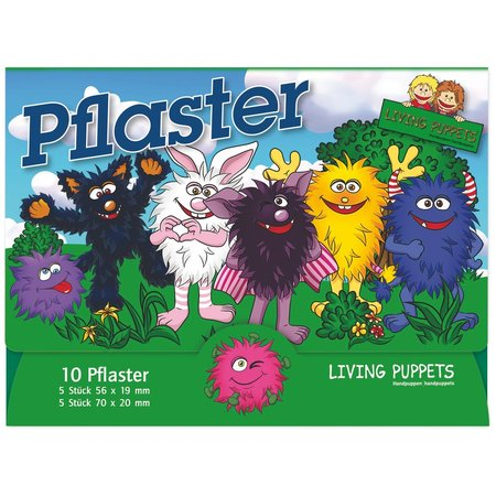 Living Puppets Pleisters Living Puppets