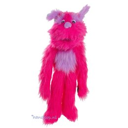 The Puppet Company handpop monster roze Zuurstok