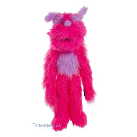 The Puppet Company handpop roze monster