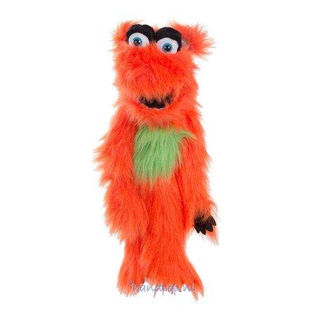 The Puppet Company handpop monster oranje