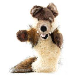The Puppet Company handpop wolf (longsleeve)