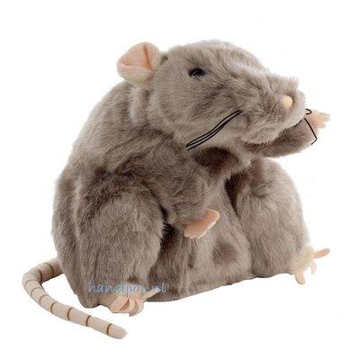 The Puppet Company handpop rat grijs wildlife