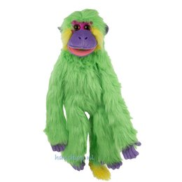 The Puppet Company handpop aap groen