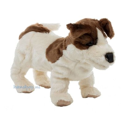 Folkmanis handpop hond Jack Russel