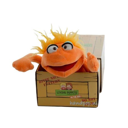 Living Puppets Mr. Orange in the box